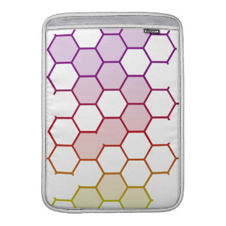 Color Hex on White MacBook Air Sleeve