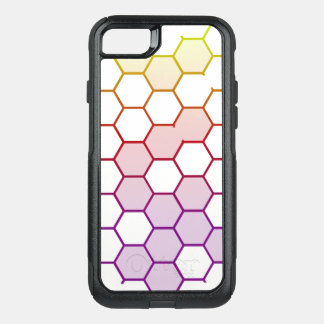 Color Hex on White OtterBox Commuter iPhone 8/7 Case