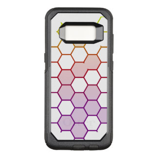 Color Hex on White OtterBox Commuter Samsung Galaxy S8 Case