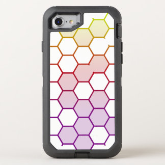 Color Hex on White OtterBox Defender iPhone 8/7 Case