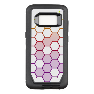 Color Hex on White OtterBox Defender Samsung Galaxy S8 Case