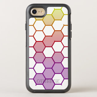 Color Hex on White OtterBox Symmetry iPhone 8/7 Case