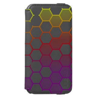 Color Hex with Grey Incipio Watson™ iPhone 6 Wallet Case