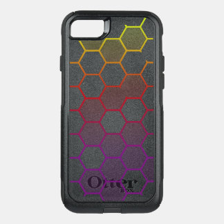 Color Hex with Grey OtterBox Commuter iPhone 8/7 Case