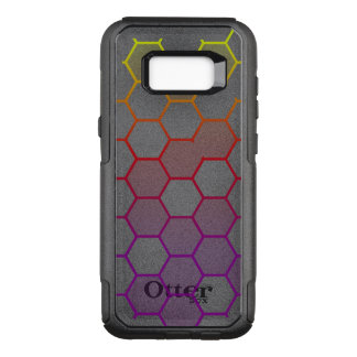 Color Hex with Grey OtterBox Commuter Samsung Galaxy S8+ Case