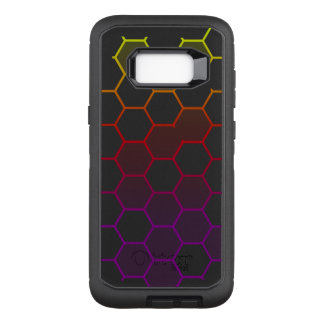 Color Hex with Grey OtterBox Defender Samsung Galaxy S8+ Case