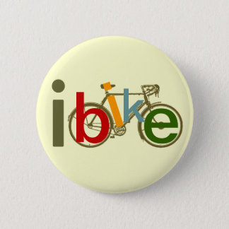 color I bike 2 Inch Round Button