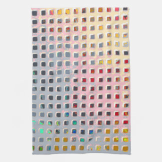 Color in the Grid Kitchen Towel