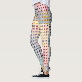 Color in the Grid Leggings