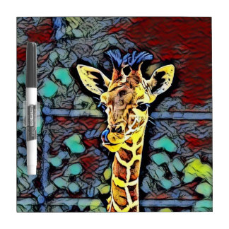 Color Kick - Baby Giraffe Dry Erase Board