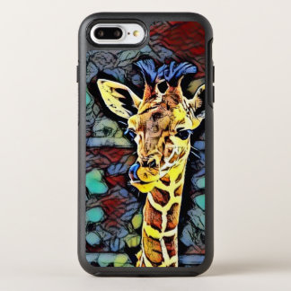 Color Kick - Baby Giraffe OtterBox Symmetry iPhone 8 Plus/7 Plus Case