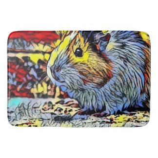 Color Kick - Guinea pig 2 Bath Mat