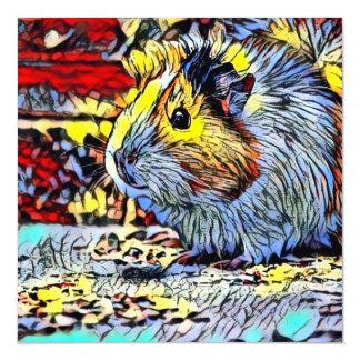 Color Kick - Guinea pig 2 Magnetic Card