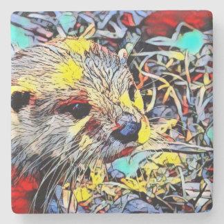 Color Kick - Otter Stone Coaster
