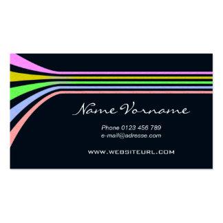 color LINE Pack Of Standard Business Cards