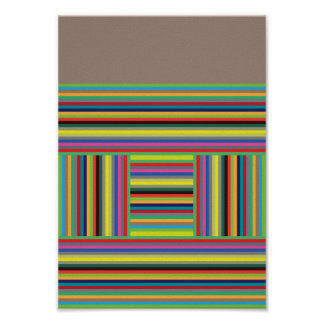 Color Lines Poster