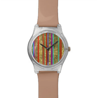 color lines wrist watches