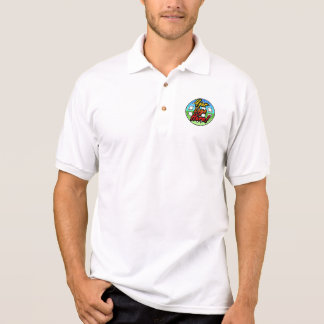 Color Logo Golf Polo Shirt, No Minimum Quantity