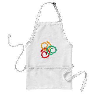 Color logo standard apron