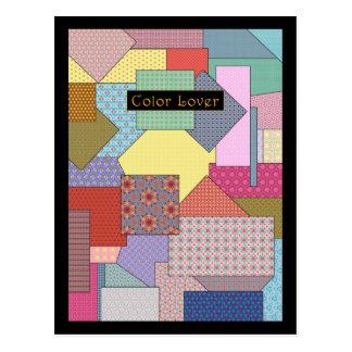 Color Lover Patchwork Card