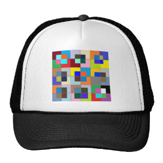 COLOR Maze  : Happy Graphics Trucker Hat