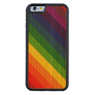 COLOR ME A RAINBOW (Striped design) ~ Cherry iPhone 6 Bumper Case