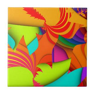 Color Me Bright Tile #1