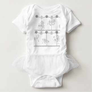 Color Me Carousel Baby Bodysuit