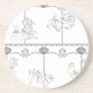 Color Me Carousel Coaster