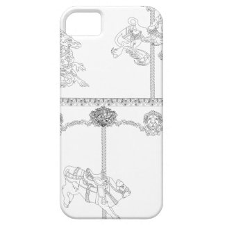 Color Me Carousel iPhone 5 Case