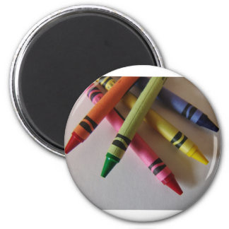 Color Me Crayons Magnet