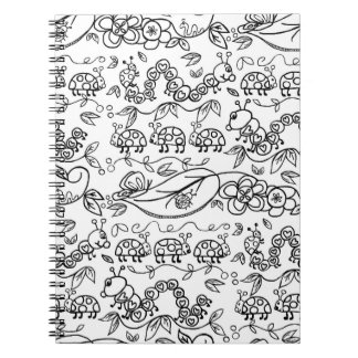 Color me Critters NOTEBOOK