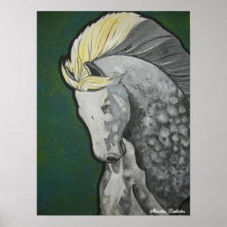 Color me Dapple  By Heather Ledbetter Poster