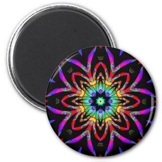 Color Me Fantastic Fractal Magnet