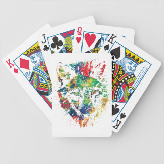 color me foxy fox appeal bicycle playing cards