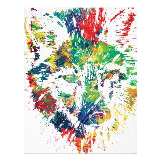 color me foxy fox appeal letterhead