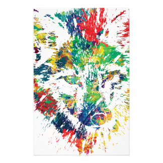 color me foxy fox appeal stationery