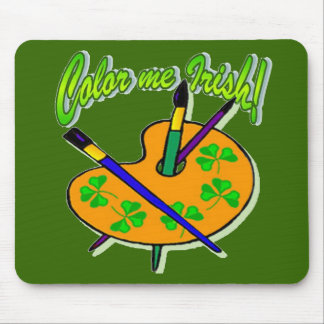 Color Me Irish Mouse Pad