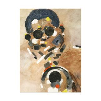 Color Me Jazz Canvas Print