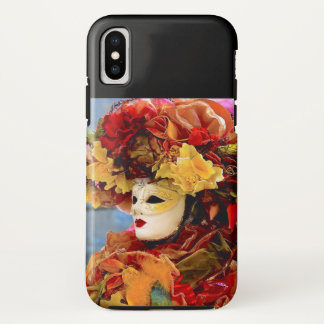 COLOR ME MARDI GRAS ALL YEAR LONG iPhone X CASE