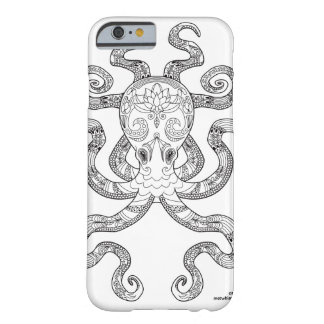 Color Me Octopus Nautical Zen Doodle Illustration Barely There iPhone 6 Case