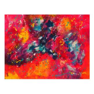 Color Meditation Postcard