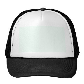 color mint cream trucker hat
