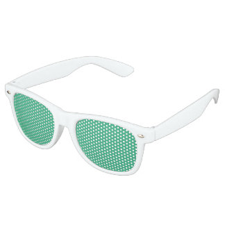 color mint retro sunglasses