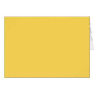 color mustard card