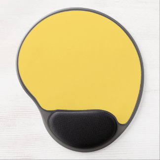 color mustard gel mouse pad