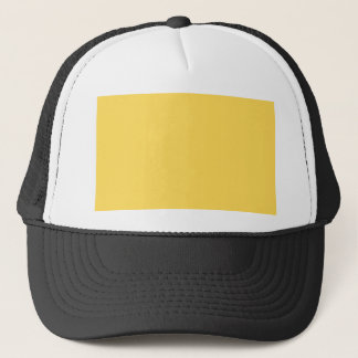 color mustard trucker hat