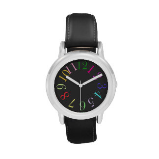 Color Number Watch