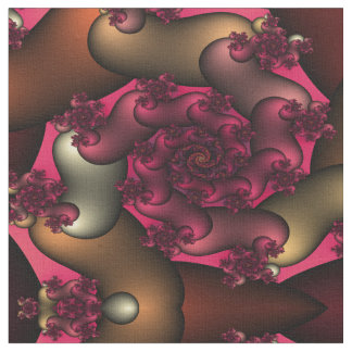 Color Of Love Fractals Fabric