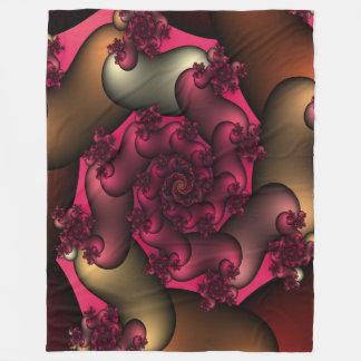Color Of Love Fractals Fleece Blanket